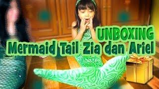DIKASIH MERMAID TAIL SAMA ARIEL MERMAID IN LOVE !!! - MERMAID TAIL UNBOXING INDONESIA