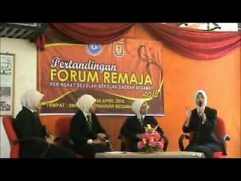 Pertandingan Forum Remaja Peringkat Sekolah-Sekolah Daerah Segamat 2012