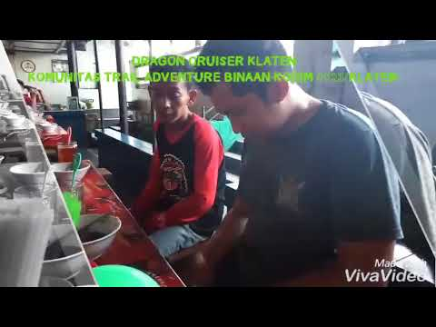 "DRAGON CRUISER KLATEN ""HUT KOREM 074/WRT KE 52"" TRABAS BARENG TNI-POLRI"