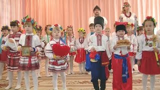 Концерт ЮНІ КОЗАЧАТА у дитячому садку. ДНЗ №2.