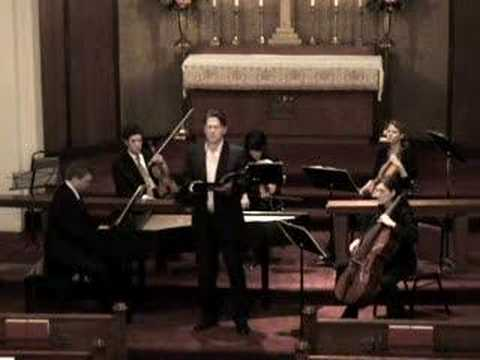 """Bach Cantata 82: Recit - """"My God, oh let me now depart!"""""""