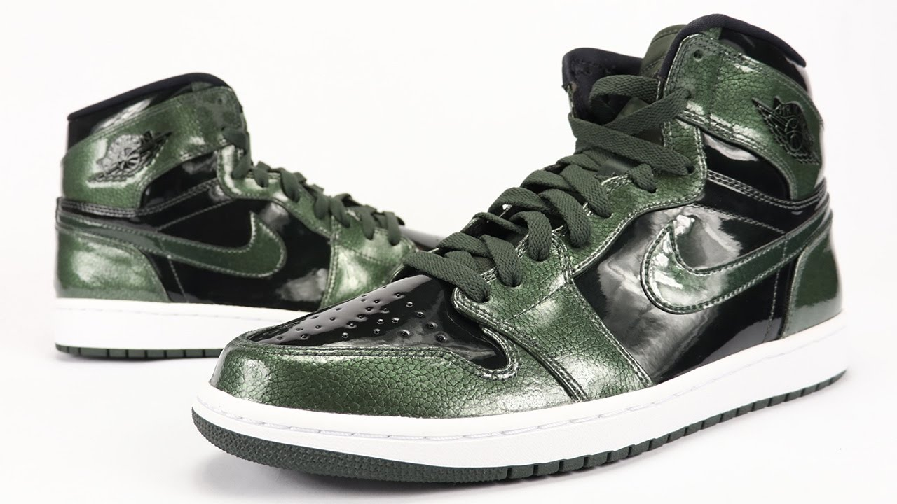 new collection reasonably priced huge selection of Air Jordan 1 High Grove Green | SneakerFiles