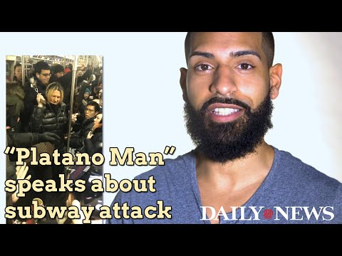 'Platano Man' describes encounter with racist woman on subway