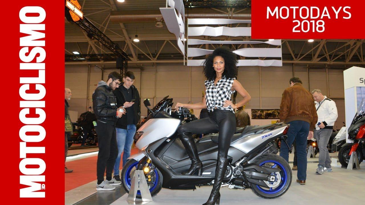 yamaha tmax sx sport edition 2018 roma motodays 2018 motociclismo youtube. Black Bedroom Furniture Sets. Home Design Ideas