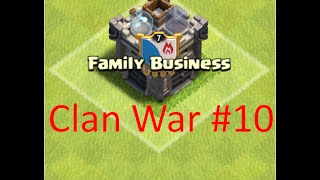 CLASH OF CLANS | CLAN WAR | 10 WINS IN A ROW! | FULLY GREEN WAR LOG!