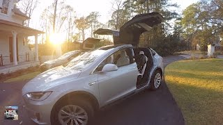 Trusting Your Wife to Drive the Tesla!