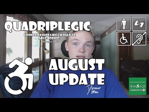 Urologist Appointment, Myrbetriq, and Group B Strep - August Update | Quadriplegic (C5,C6,C7)