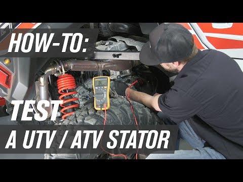 How To Test a UTV/ATV Stator