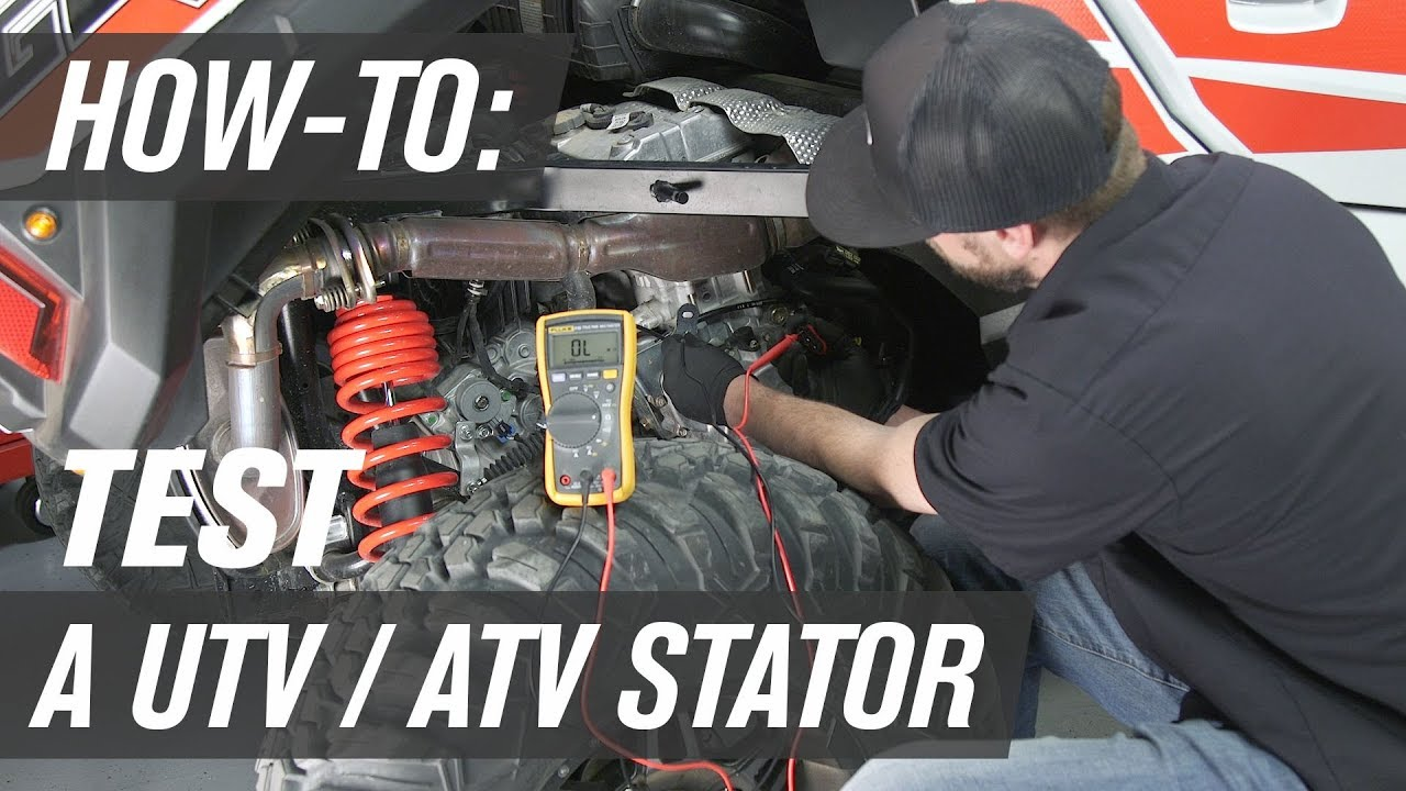 How To Test A Utv Atv Stator Youtube Yamaha Exciter 570 Wiring Harness