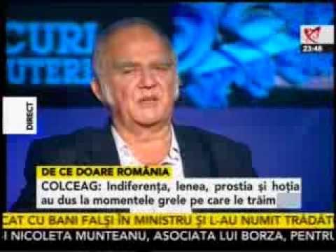 Florin Colceag vorbeste la Realitatea despre Rosia Montana si gazele de sist