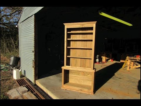 Life on the Ranch: Building a Rustic Hutch