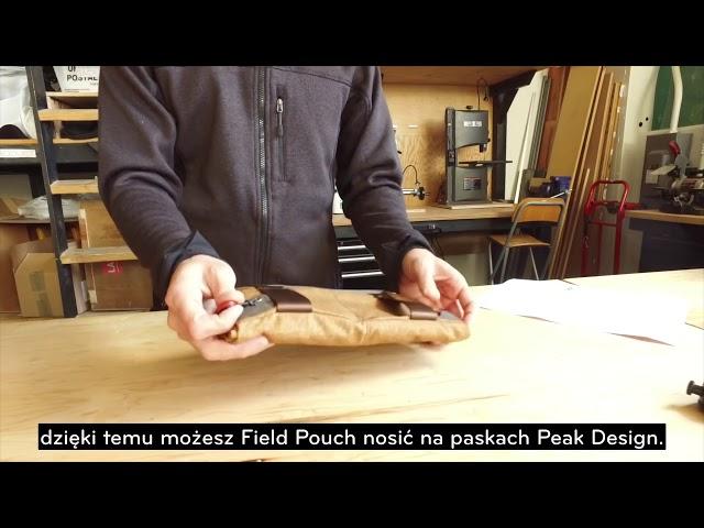 Pokrowiec Peak Design Field Pouch - porady / instrukcje (wersja PL)