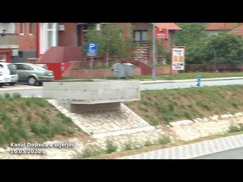 Kanal Dašnica u Bijeljini (16.05.2020.g.)