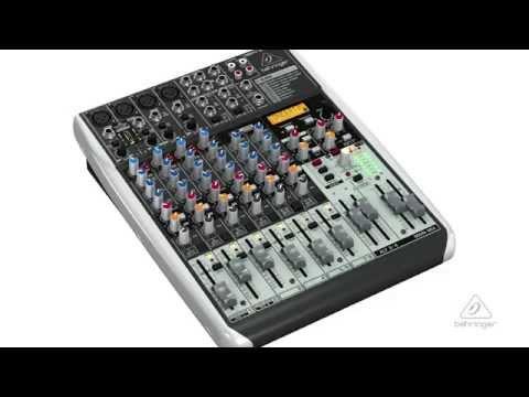 XENYX QX1204USB Small Format Mixer & USB Audio Interface
