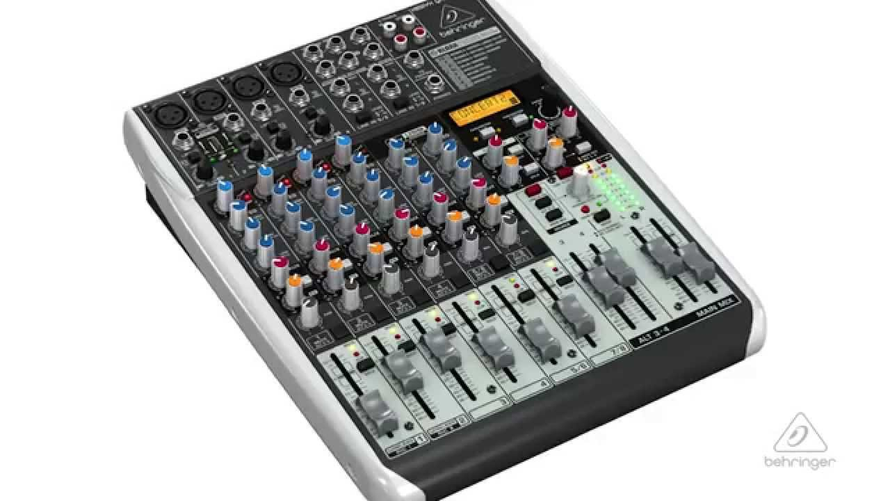 xenyx qx1204usb small format mixer usb audio interface youtube. Black Bedroom Furniture Sets. Home Design Ideas
