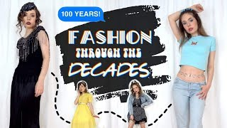 Trying Fashion Trends Through The Decades! 100 Years of Fashion