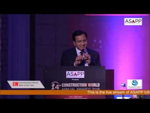 14th CW Annual Awards 2016, Man of the Year (Public Sector) - Mr. Raghav Chandra