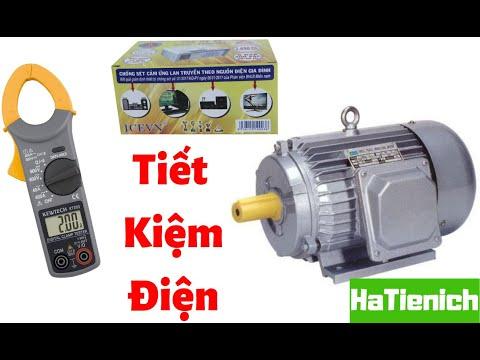 SỰ THẬT hộp tụ bù ICEVN có tiết kiệm điện cho máy bơm gia đình