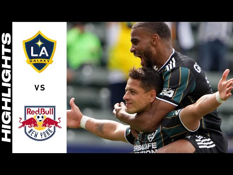 Los Angeles Galaxy New York Red Bulls Goals And Highlights
