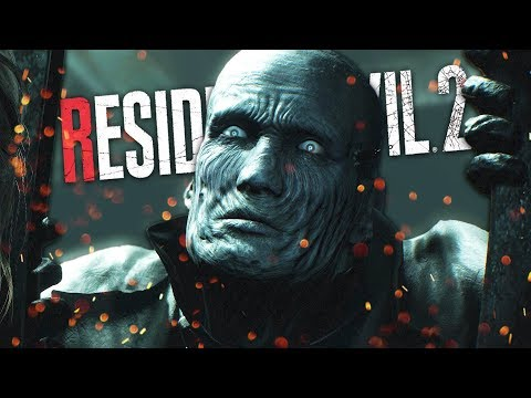 MR. X IS ABSOLUTELY TERRIFYING! | Resident Evil 2 (Remake) - Leon Part 3