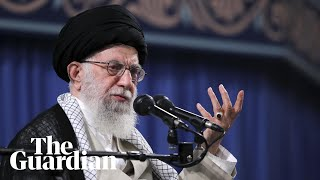 Iran's supreme leader says missile strikes against US were 'a day of God'
