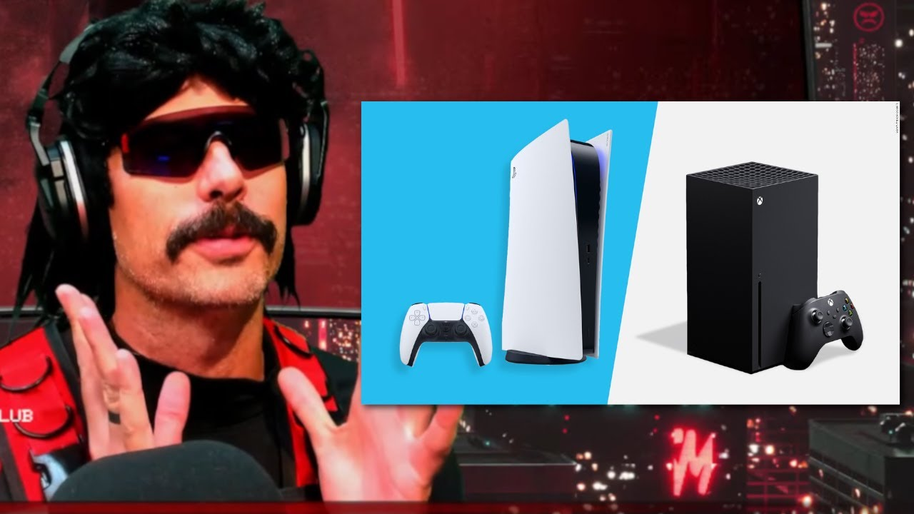 DrDisrespect Gives Honest Opinion on PS5 and Xbox Series X.