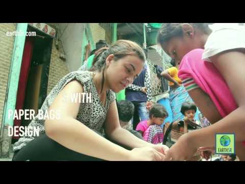 Daharavi Mumbai- Recycling Training for Children by Earth5R