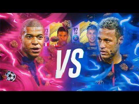 MBAPPE POTY ES UNA BESTIA!!! | MBAPPE POTY VS NEYMAR POTY | FIFA 18