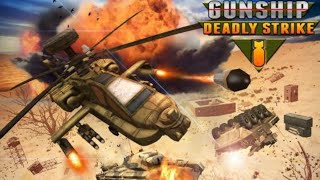 """""""Fighting With Helicopter"""" With More Weapons Game-: Gunship Strike """"3D""""