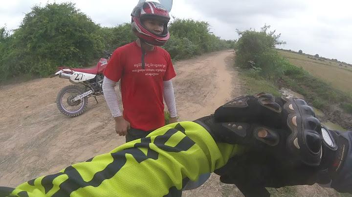 캄보디아 오토바이 여행  머찌레이를 가다