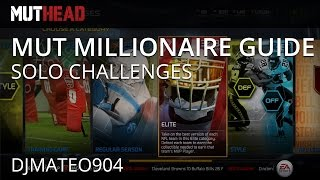 Madden Ultimate Team 15 - Guide To Becoming A Mut Millionaire Ep. 1 W/ @djmateo904