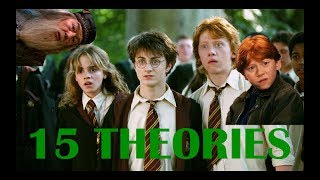 15 THÉORIES HARRY POTTER