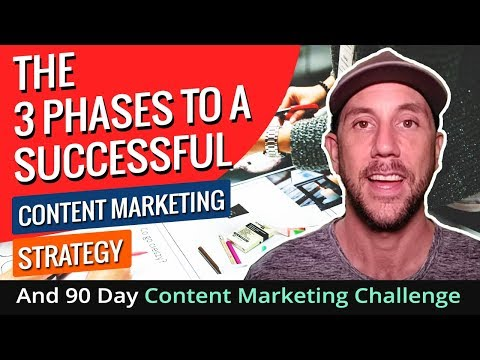 The 3 Phases To A Successful Content Marketing Strategy And 90 Day Content Marketing Challenge