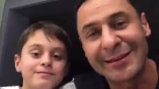Стас Костюшкин и его сын поздравили Нюсю - дочку Алексея Панина