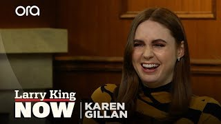 'Doctor Who', Scotland, & reality television -- Karen Gillan answers your social media questions