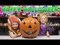 HUGE Trick or Treat Pumpkin Surprise Toys for Boys & Girls Kids Halloween Blind Bags Kinder Playtime