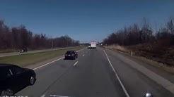 Semi trucks avoiding accidents!