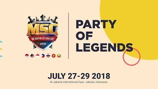 MSC 2018 Party OF Legends - Day 1 Game 1 = Aerowolf Roxy 1 vs 0 Air...
