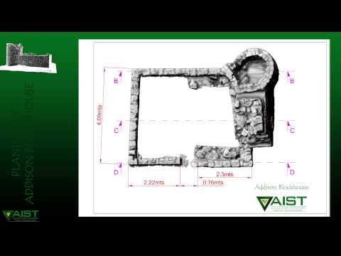 Addison Blockhouse Terrestrial Laser Scanning Survey