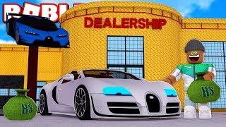 MAKING A $100,000,000 CAR DEALERSHIP in ROBLOX