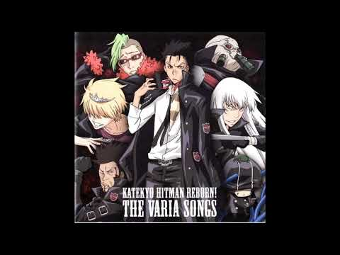 KHR! Character Song Album -THE VARIA SONGS - 04. Chinkonka No Ame [Superbi Squalo]