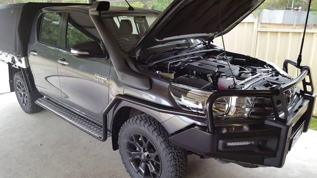 2016 Toyota Hilux Duel Battery System Youtube