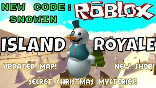 🔴 NEW SNOW MAP! ROBLOX // Island Royale // 63 Wins // Island Royale Gameplay