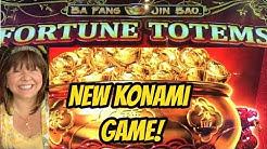 NEW KONAMI FORTUNE TOTEMS BONUSES! LOVE OR HATE IT?