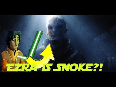 Ezra Bridger IS Supreme Leader Snoke