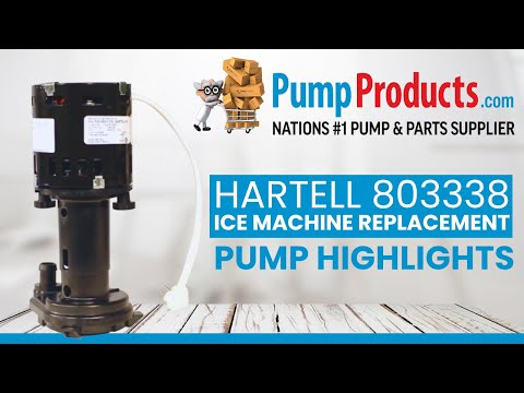 Hartell 803338 Ice Machine Replacement Pump Product Highlight