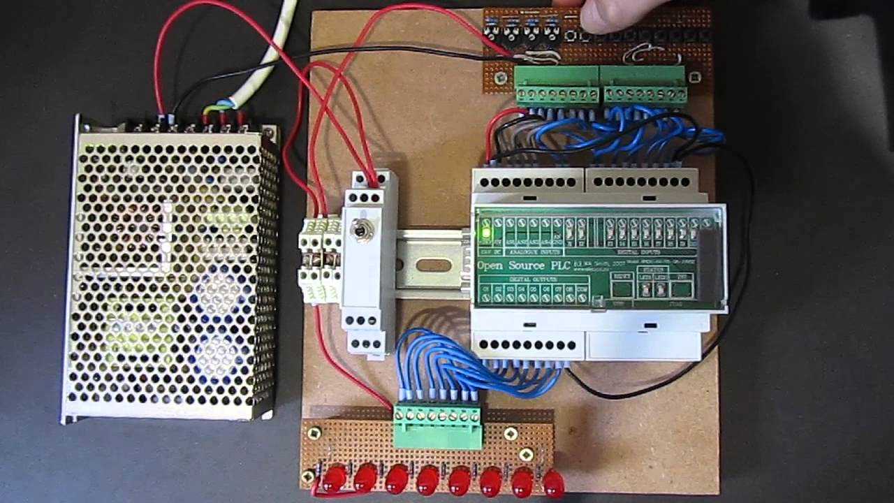 Open Source Plc Open Source Hardware Project Youtube