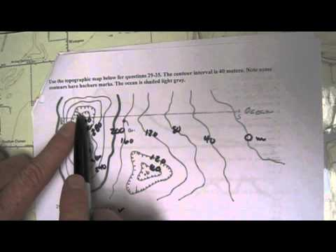Understanding Elevation on a Topographic Map