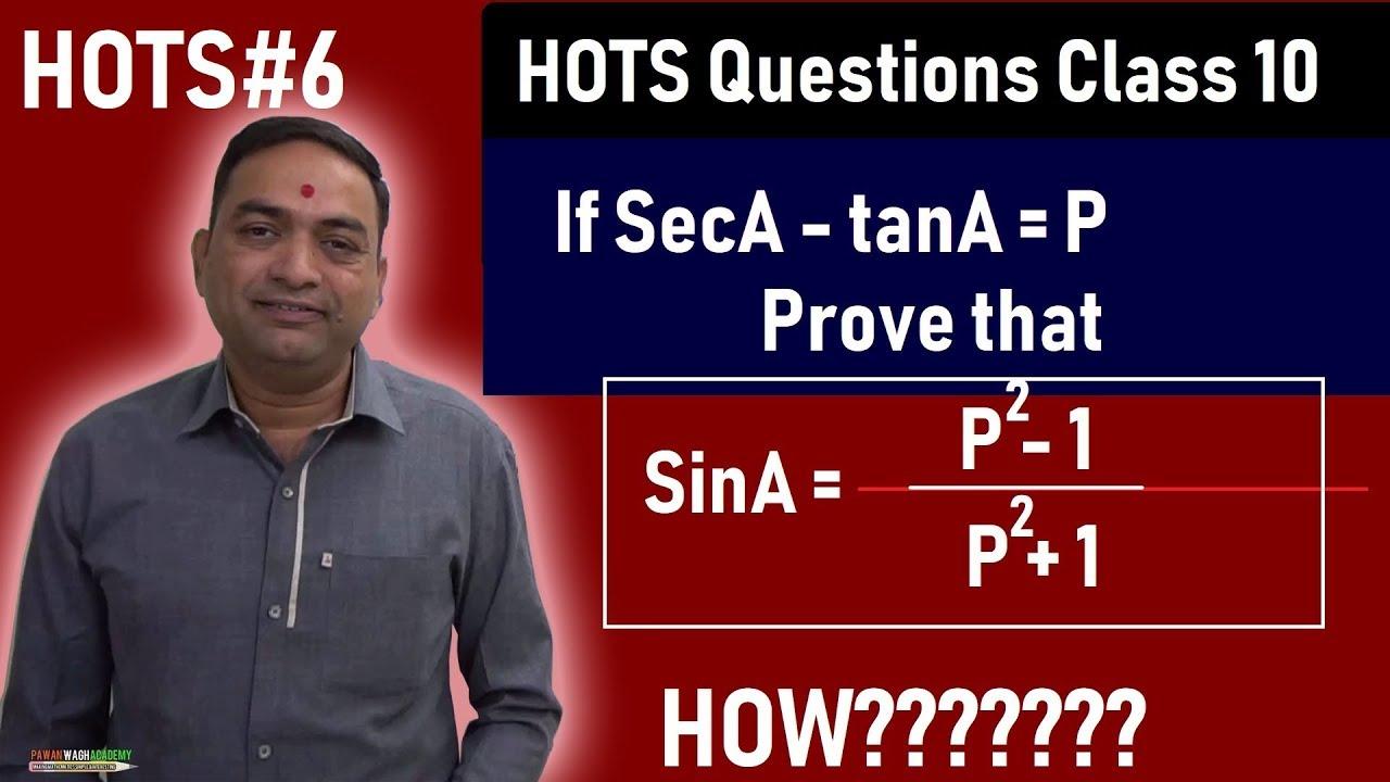 HOTS Questions#6 Math 2 Class 10