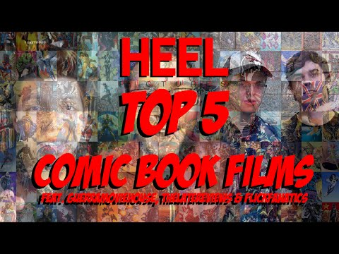 HP | TOP 5 COMIC BOOK FILMS